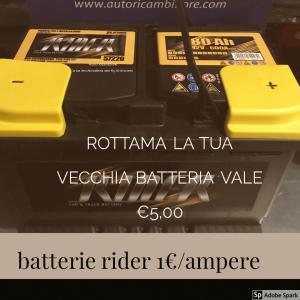 BATTERIA AUTO UN €1 AD AMPERE ADELFIA 0804593496 ESCAPE='HTML'